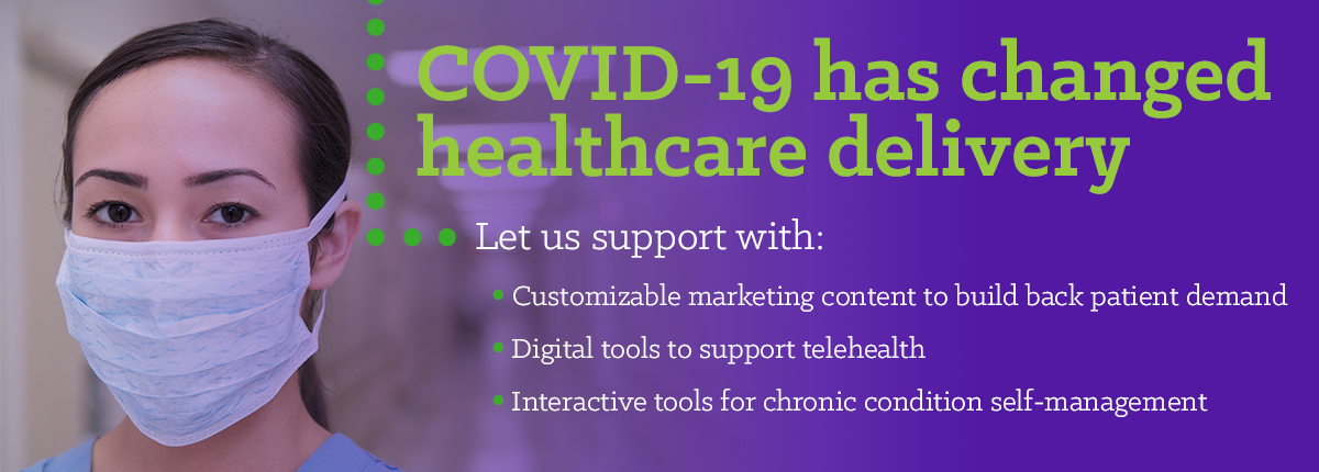 COVID-19 has changed healthcare delivery