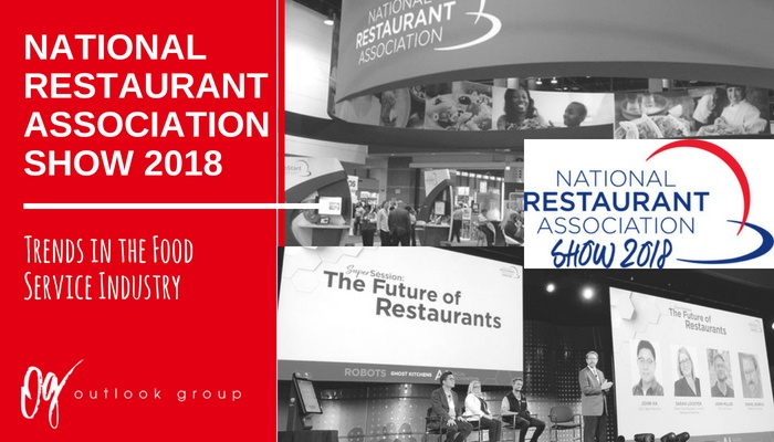 National Restaurant Association Show 2018 - Trends in the
