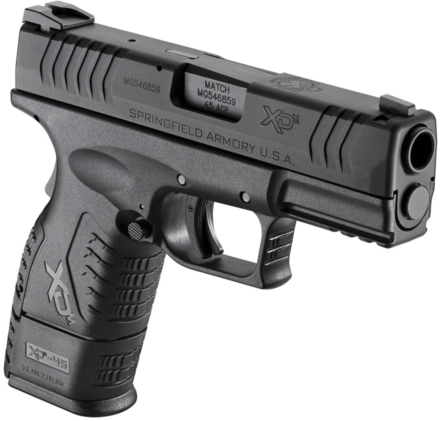 Springfield Armory XD(M) 3.8 in .45 caliber