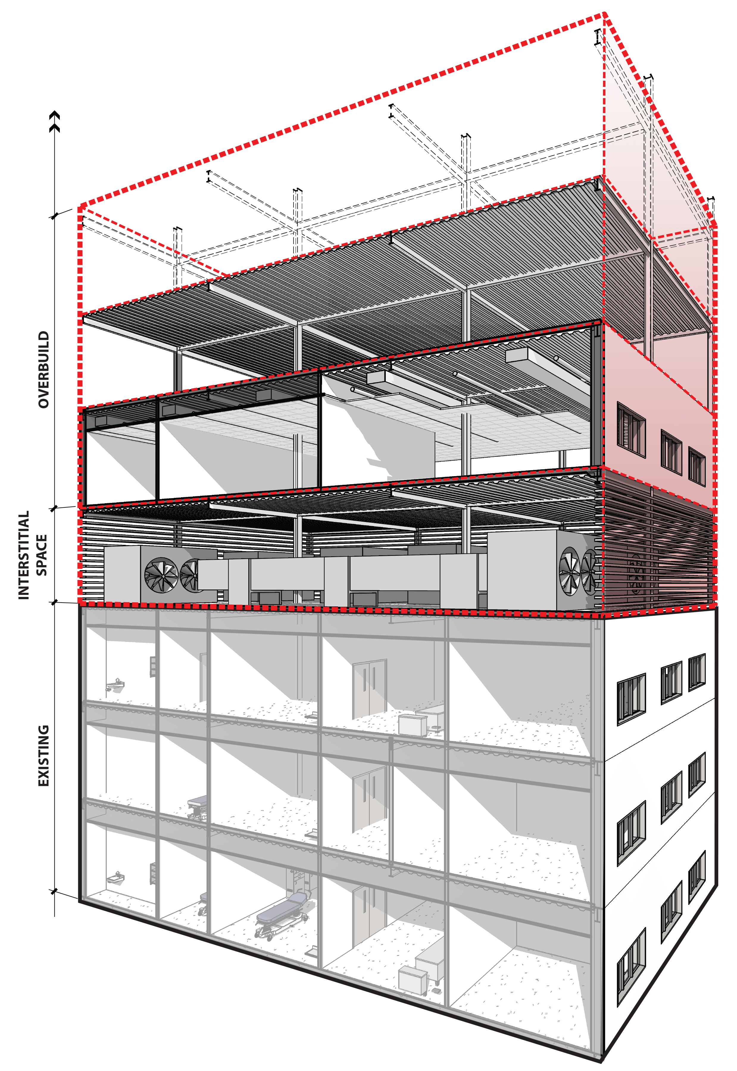 Vertical Expansion Section Perspective