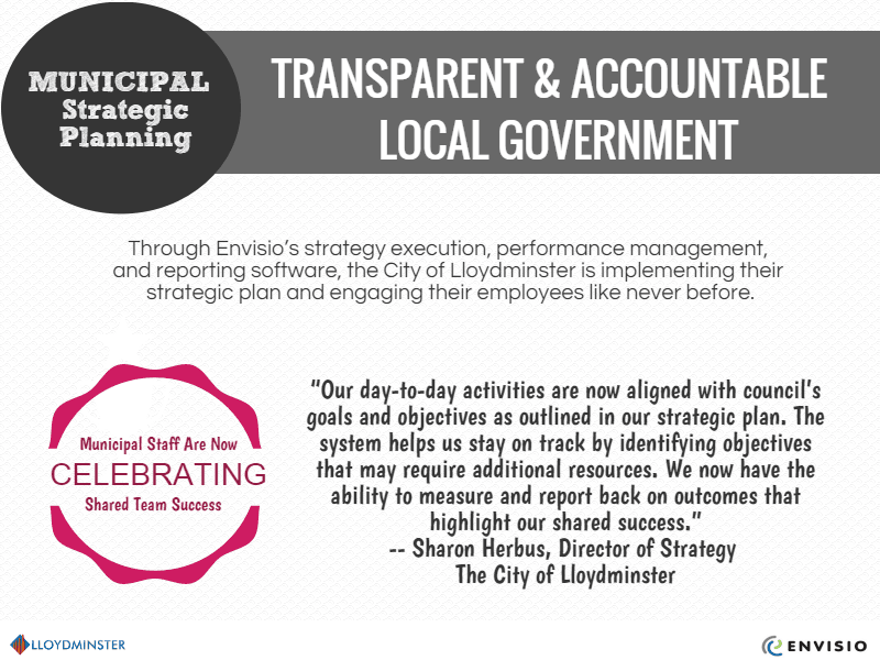 Lloydminster transparent & accountable local government