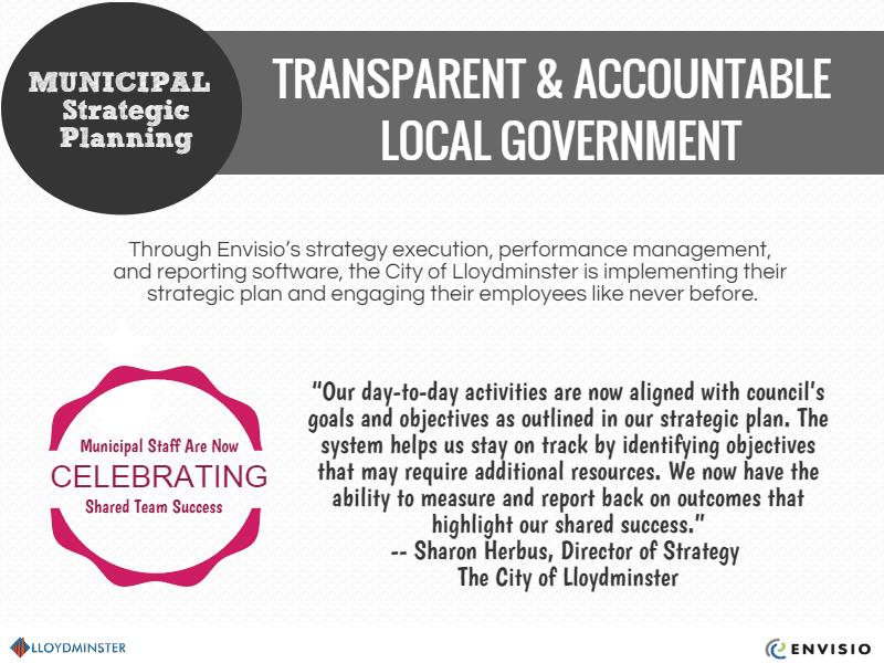 Lloydminster transparent & accountable local government