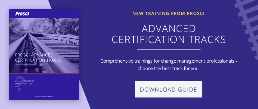 Prosci Certification and Becoming a CCMP