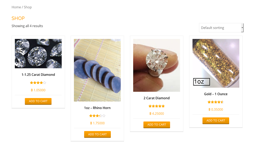 Cut the Middleman, Get your (illegal) Bling on the Darknet