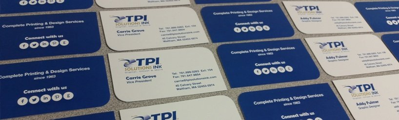 TPI Solutions Ink Business Cards