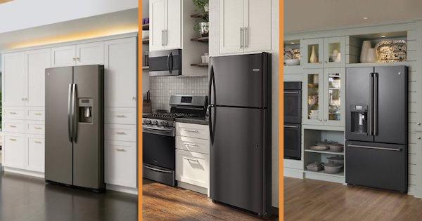 Choosing Between Slate Black Stainless Steel Black Slate Appliances