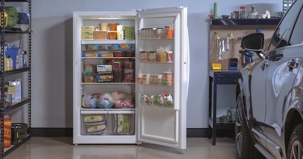 upright freezer singapore
