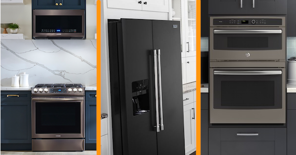 New Appliance Color Reviews - Black Stainless, Black Slate ...