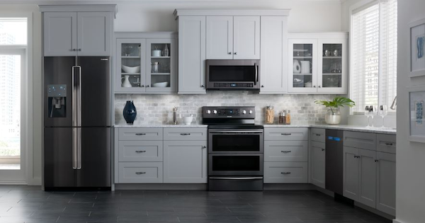 Black Stainless Steel Liances