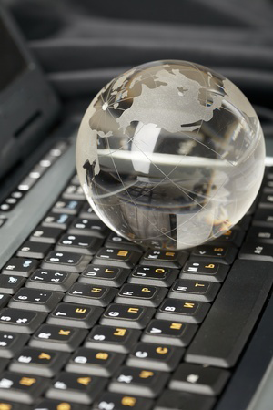 globe-on-a-computer-keyboard