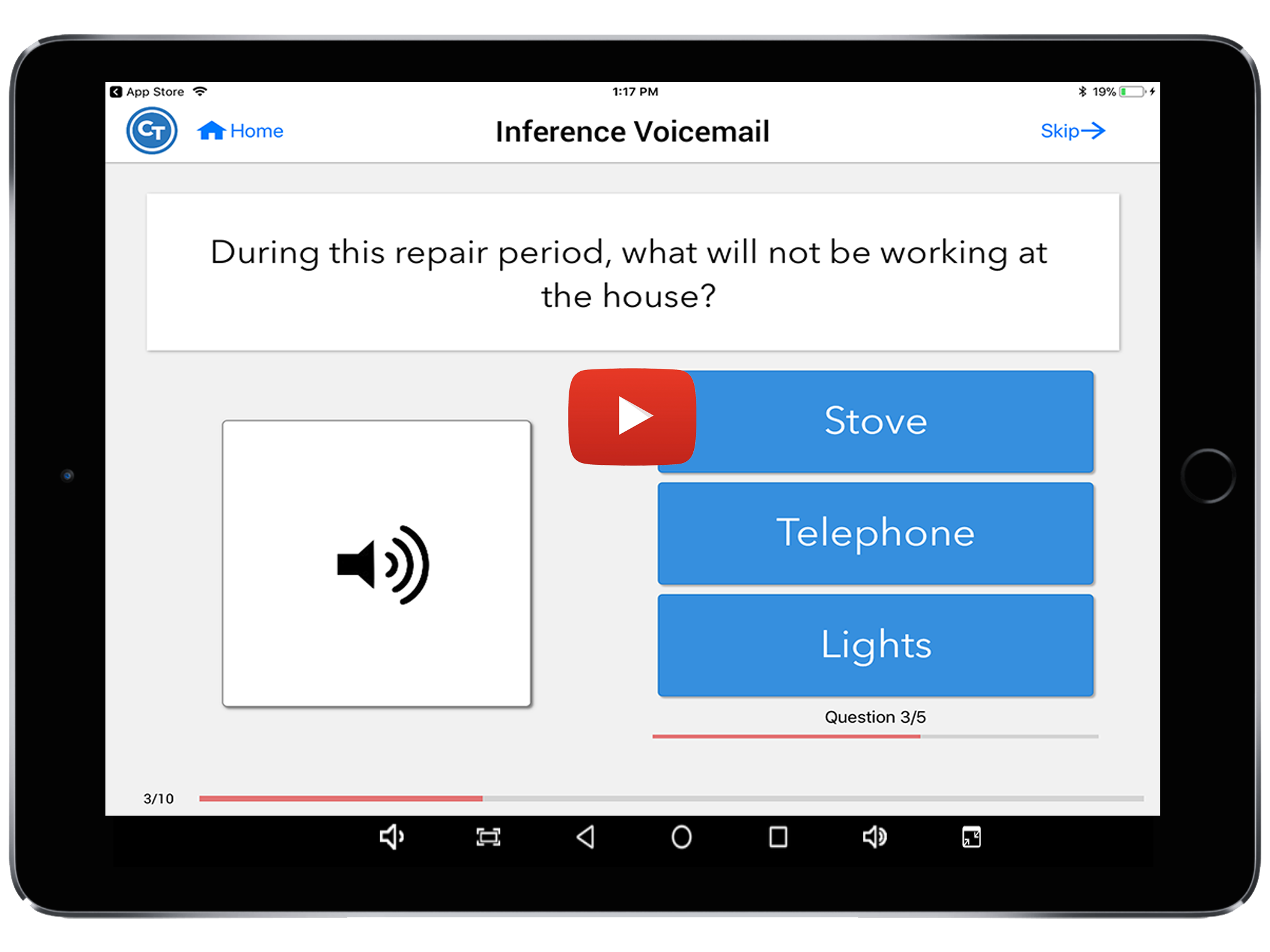 inference voicemail task