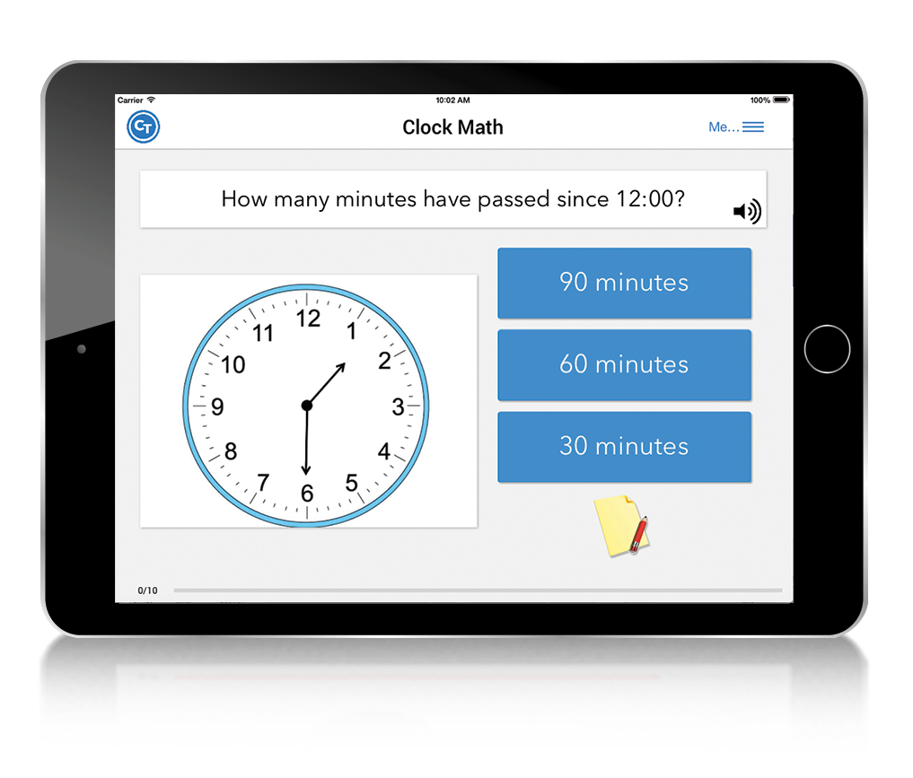 iPad_Top_10_CT_Tasks_Dementia_ClockMath_Isolated