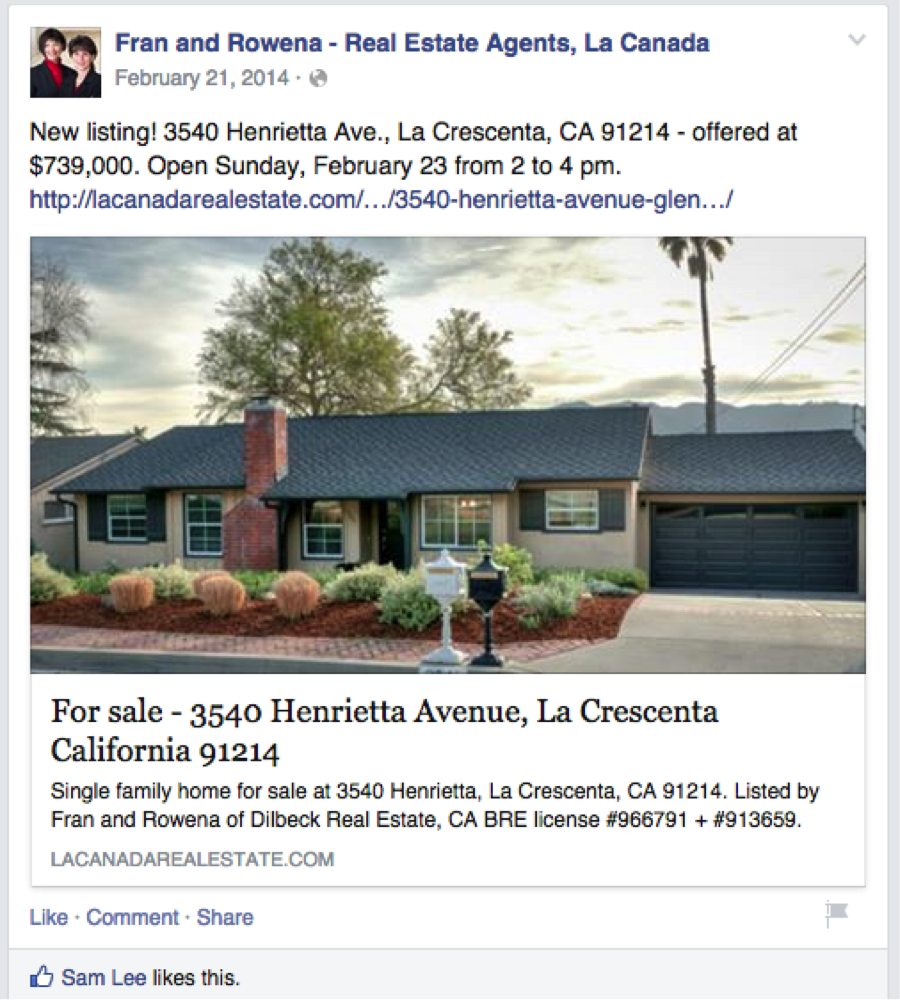 Facebook Ads for Real Estate: Boosting Posts