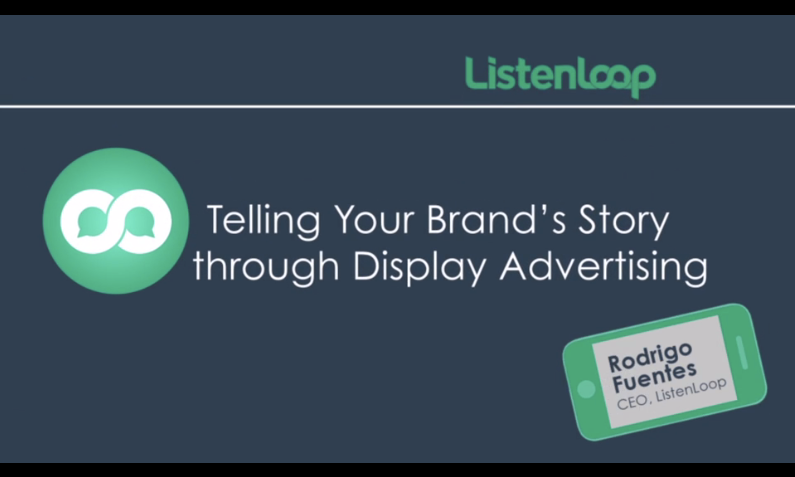 Click play to watch this video on Telling Your Brand Story Through Display Advertising