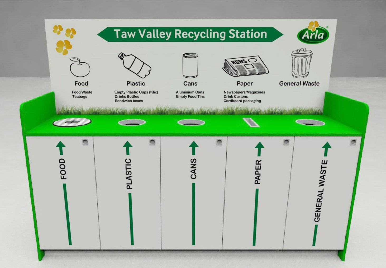 Arla Recycling Station