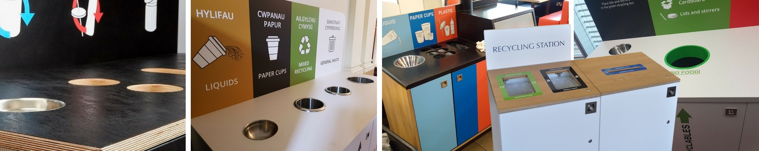 Bespoke Recycling Hubs Stations