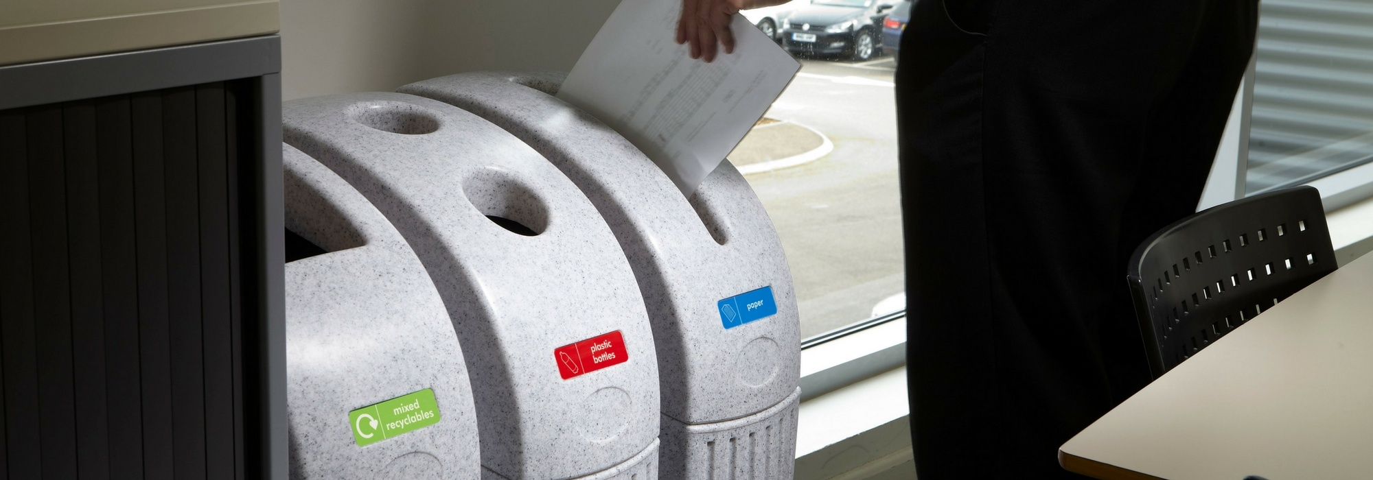 GDPR compliant paper waste bins for offices