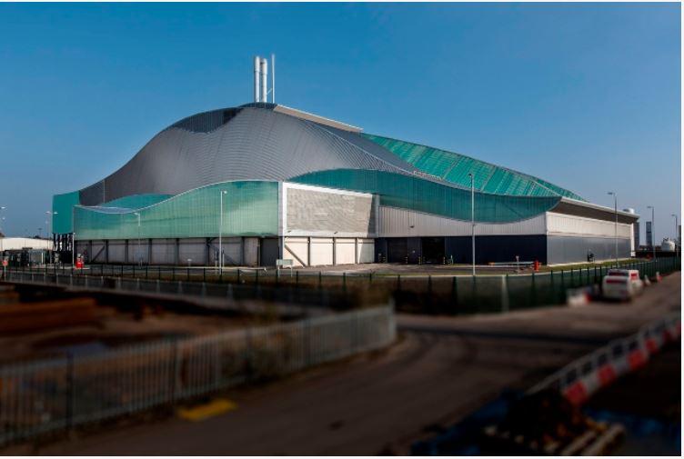 Viridor - Cardiff ERF in Cardiff Bay
