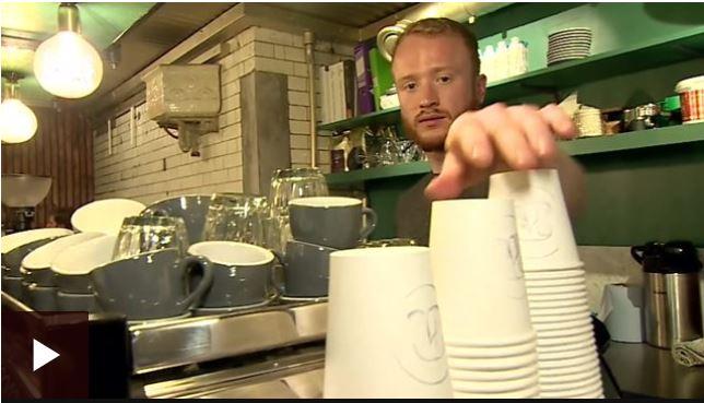 Kaizen principles to solve single use coffee cup crisis