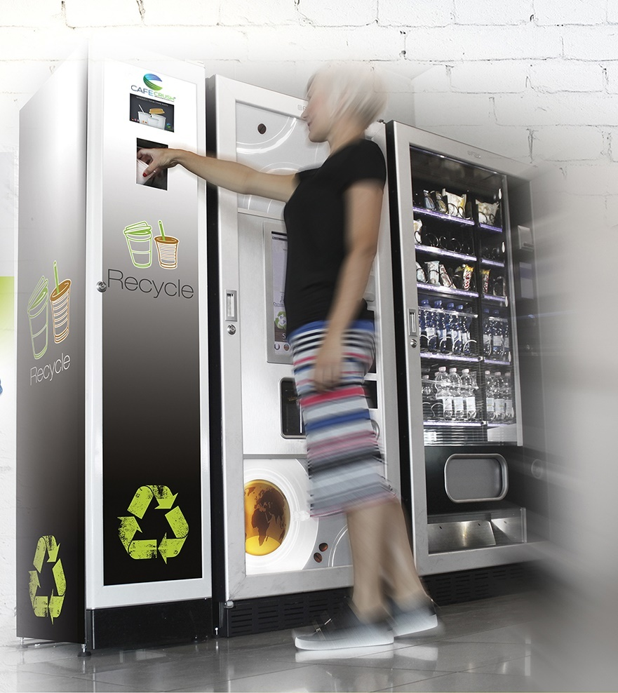 CafeCrush Recycling Waste Compactor