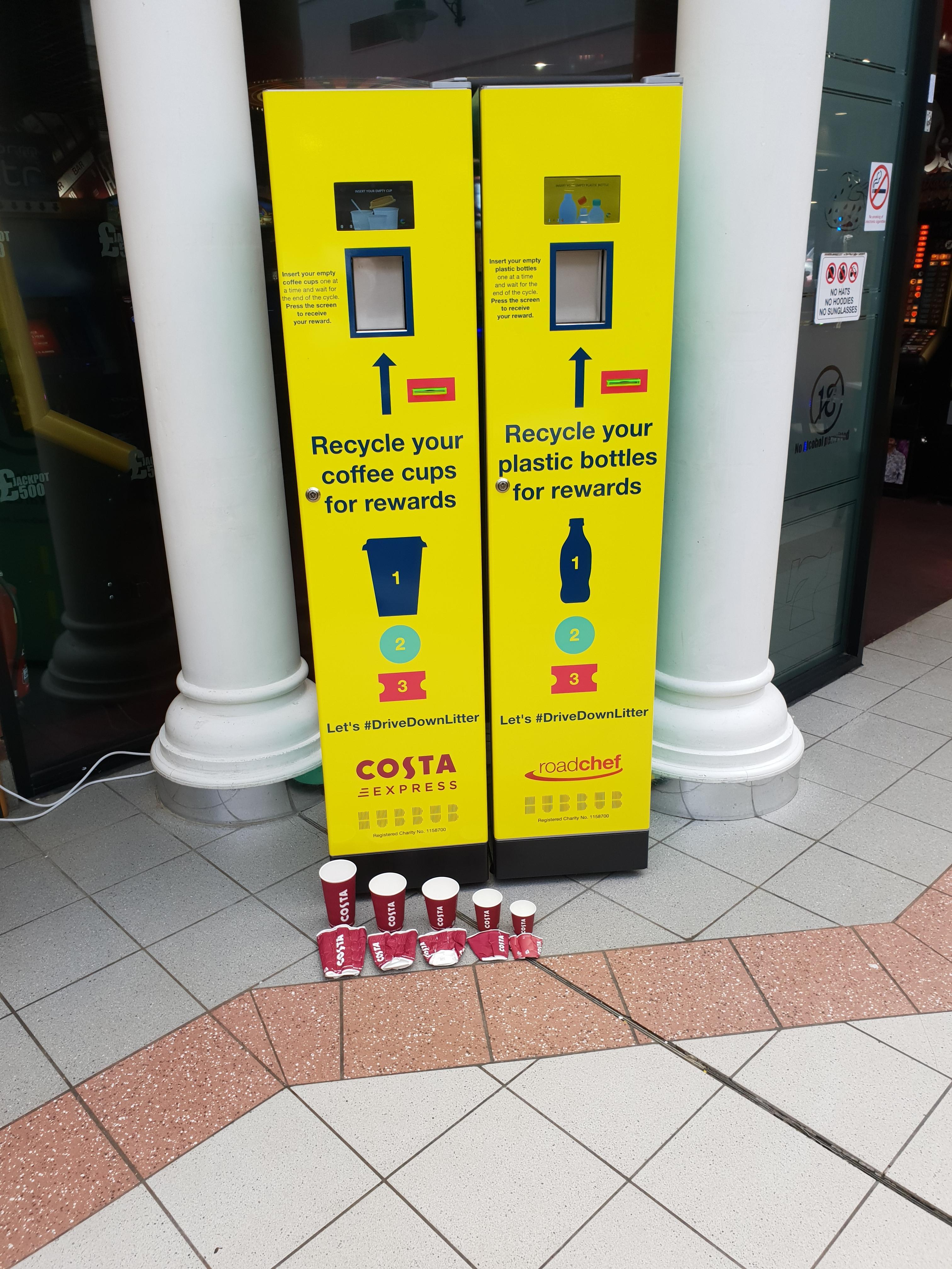 Reverse vending | Deposit Reward | CafeCrush