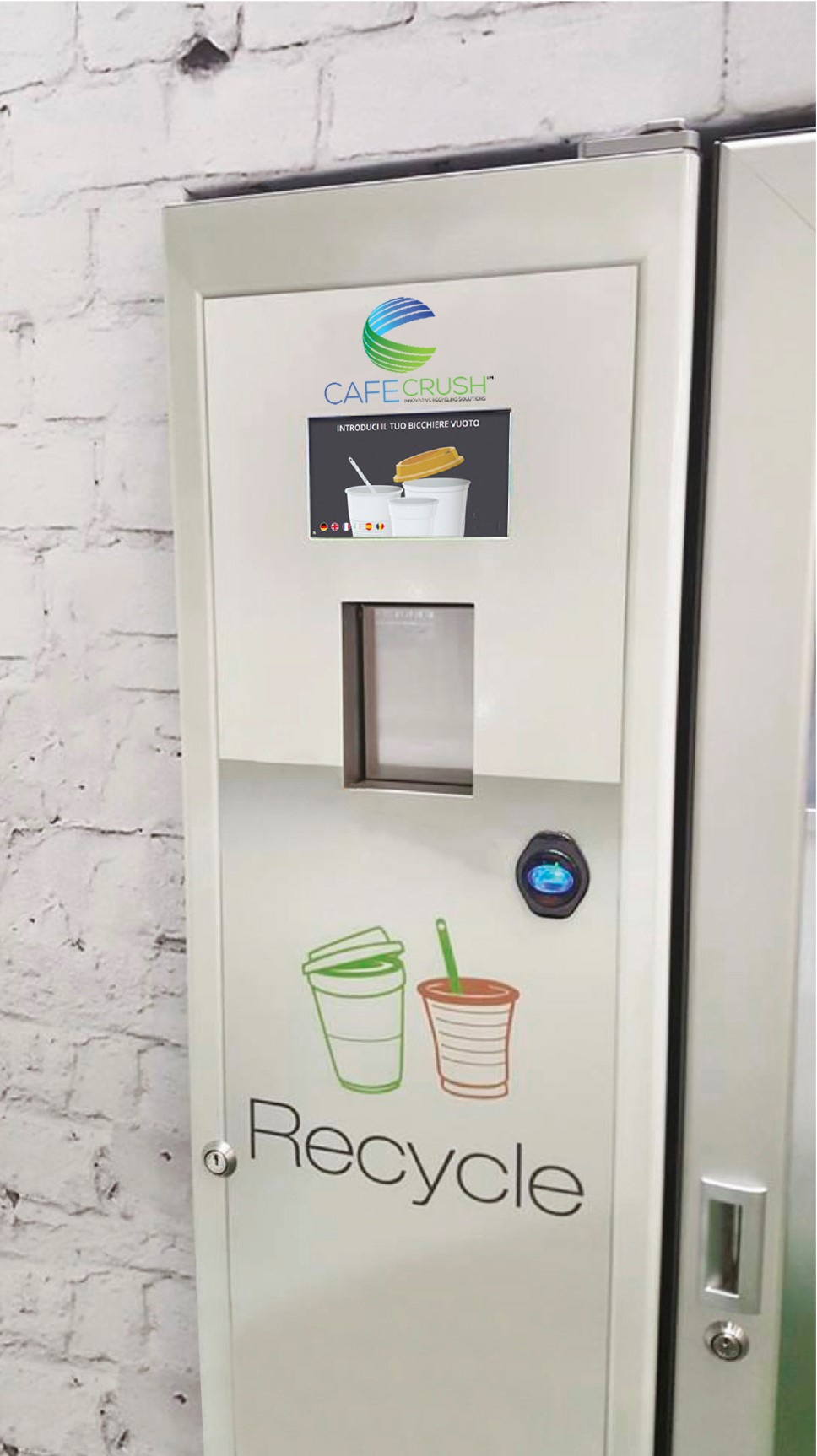 Incentivised bottle deposit return machine