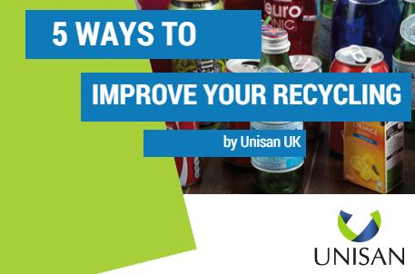 5 ways to improve your recylcing at work