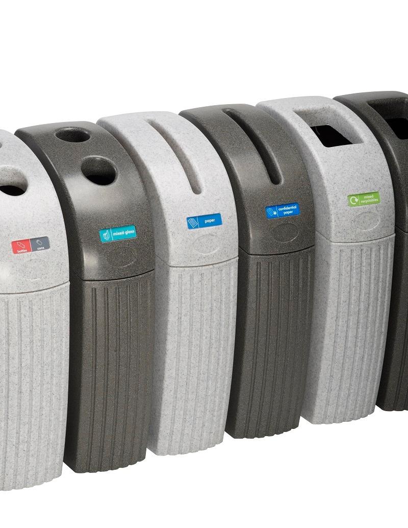 Indoor Recycling Aperture Options