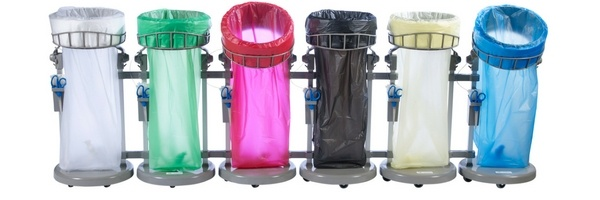 low carbon emission recycling bins