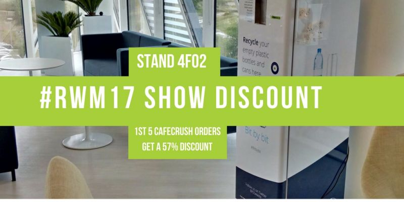 #RWM17 EXCLUSIVE SHOW DISCOUNT