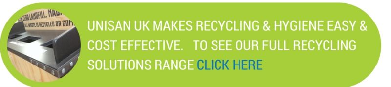 Unisan UK makes recycling & hygiene at work easy and cost effective