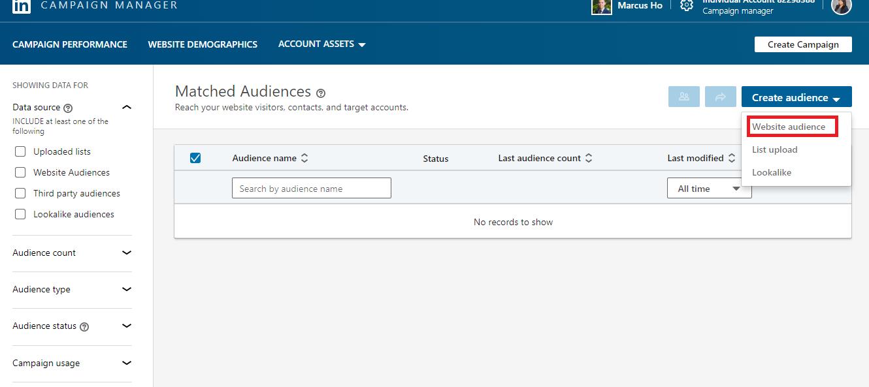 website-audience