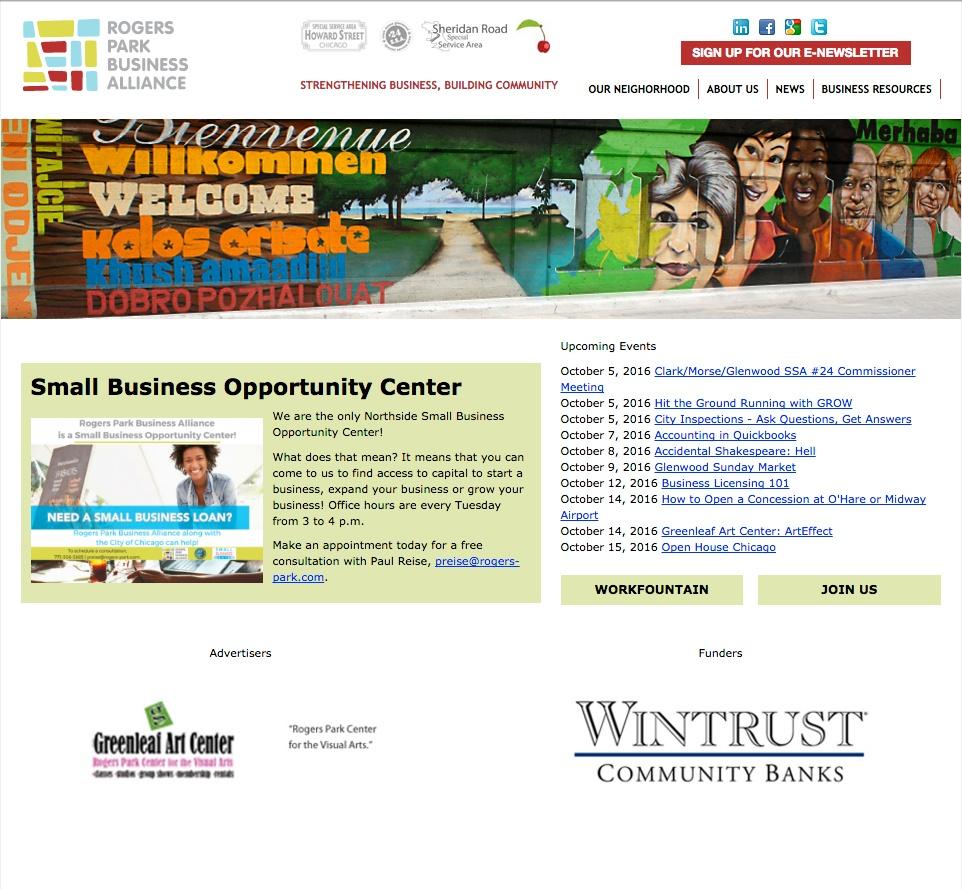 Previous RPBA Homepage