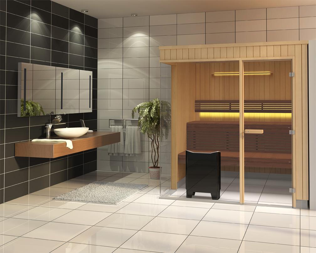 bauen sie ihre eigene sauna in nur sechs stunden. Black Bedroom Furniture Sets. Home Design Ideas