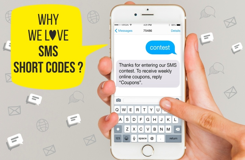 Why we love SMS short codes? (And you should too!)