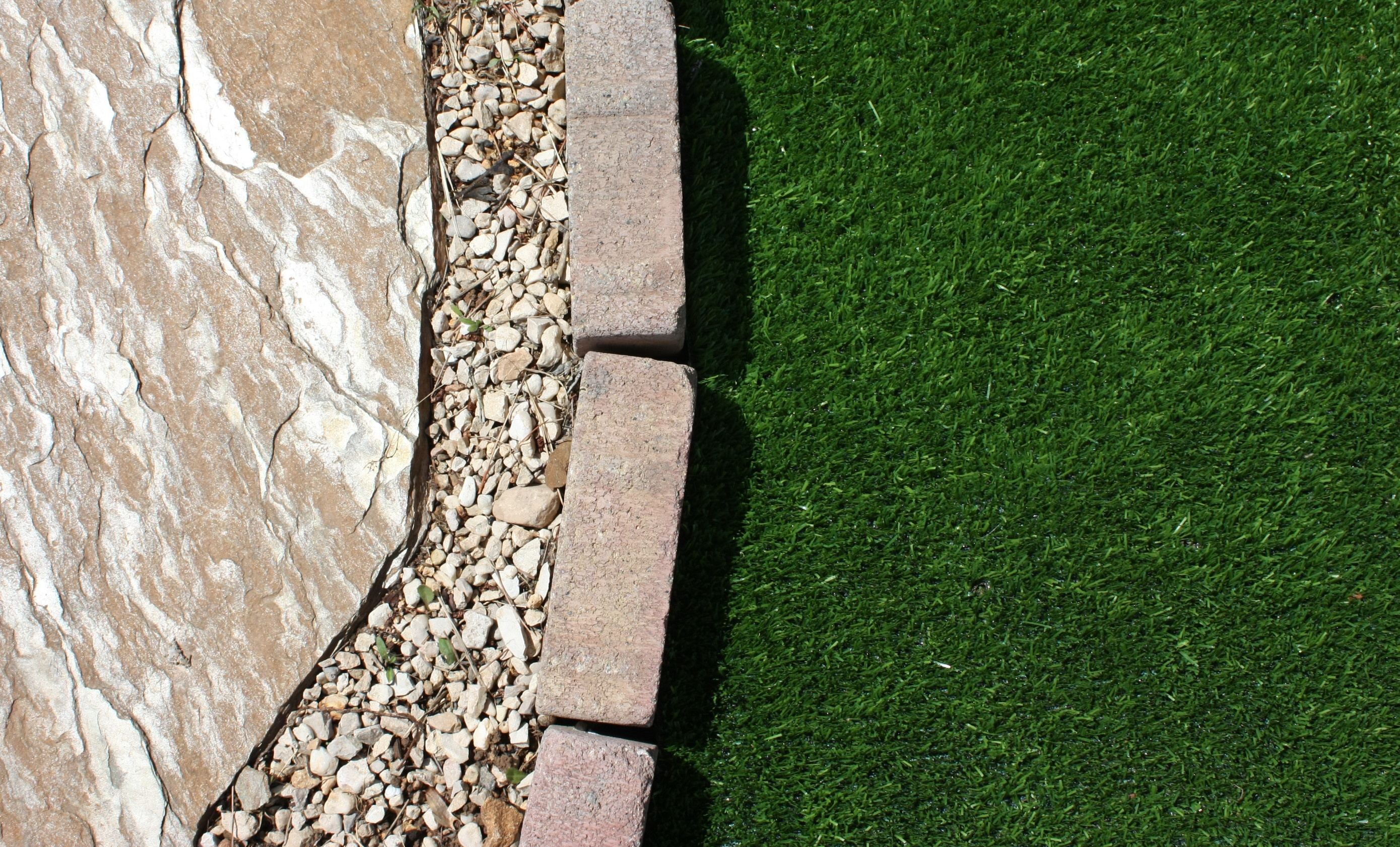 Artificial grass saves time