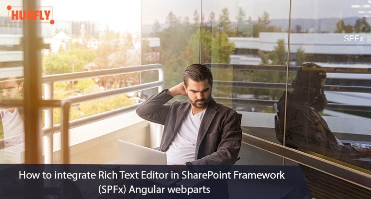 How to integrate Rich Text Editor in SharePoint Framework (SPFx