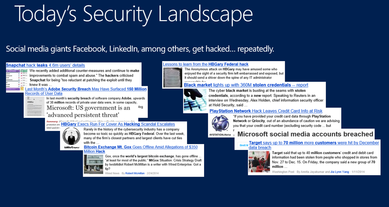 Security Landscape