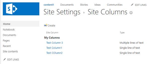 SharePoint Site collections