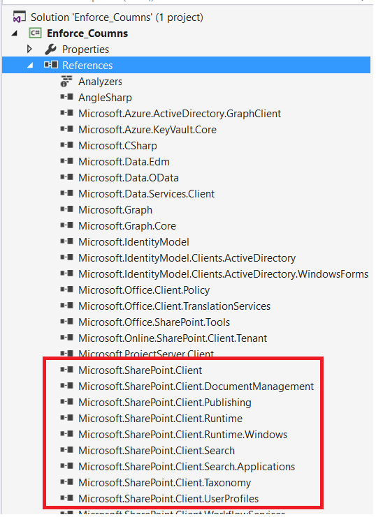 SharePoint core library