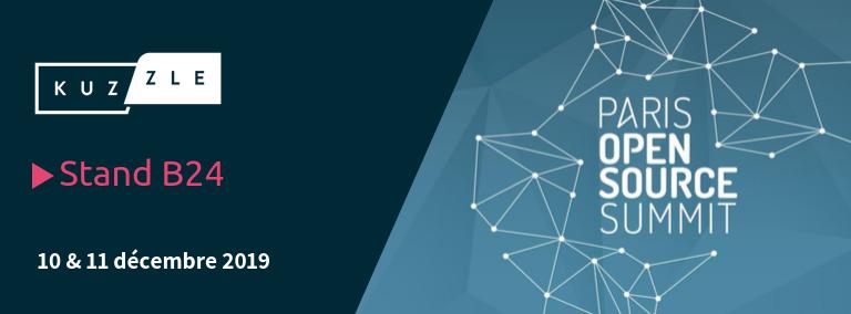 Rencontrez Kuzzle au Paris Open Source Summit 2019