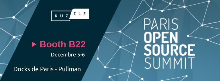 Meet Kuzzle at the Paris Open Source Summit 2018