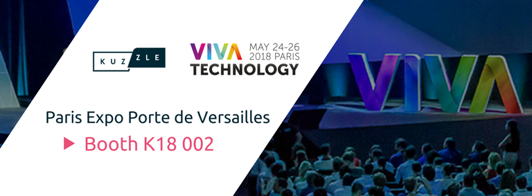 Come and meet us at Viva Technology Paris 2018