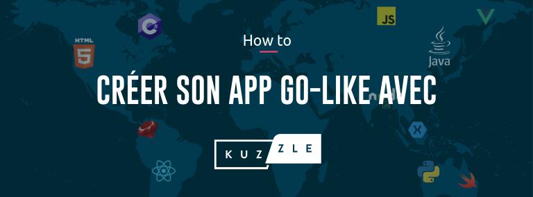Comment créer une geo game app avec Kuzzle