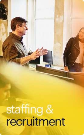 staffing & recruitment