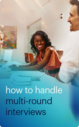 how to handle multi-round group interviews button