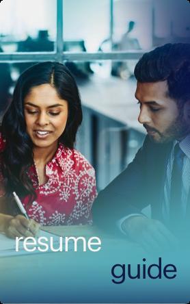 resume guide button