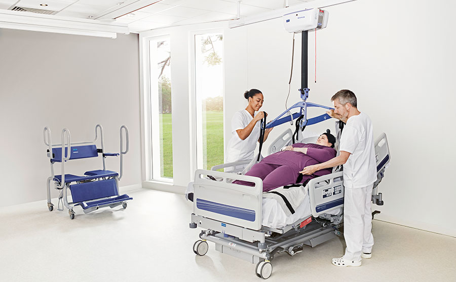 Is your health care facility designed to cope with bariatric patients?