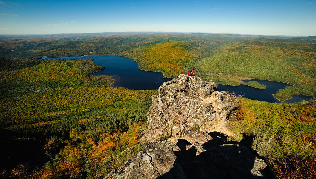 A photo taken while on an RV trip to Mount Carleton Provincial Park in New Brunswick.