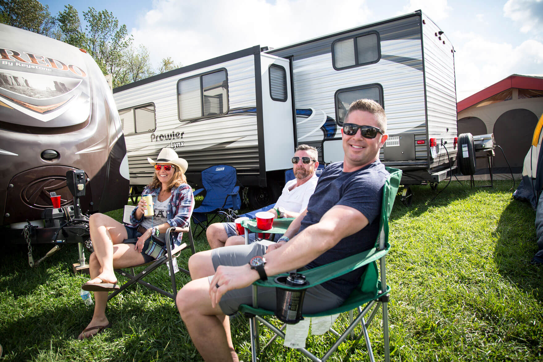 RVezy boots and hearts camping